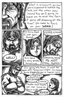 P3 of a 4 page Preview. by LeviSmithArt