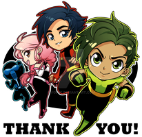 Patreon Thank You by Volet
