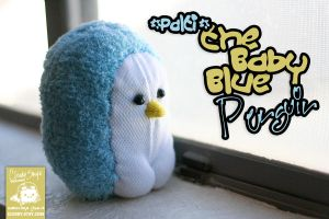Palti the Baby Blue Penguin by cleody
