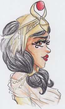Queen of the Nile - Ankhesenamun - SCANNED by TeraStormTAS