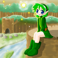 Saria awaits his return by coycoy