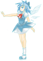 PChat- Cirno by xStarrii