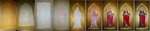 Saint Lucy Icon - Stages by LadyArwynn16