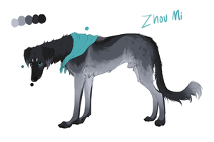 Zhou Mi Reference by CrossHound213