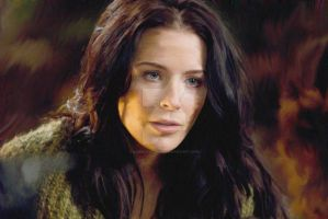 Kahlan Amnell  oil painting by chad candland by chadcandland