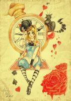 Alice in Wonderland by Tet-mm