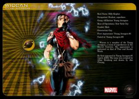 Gay Superheroes: Wiccan by mongski
