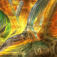 painted - Mandelbulb3D with Parameter by matze2001