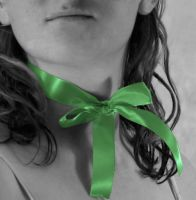 The Girl with the Green Ribbon by No-Reason-At-All