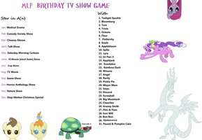 MLP Birthday Game by Takoyamafan23