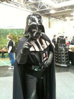 Cosplay Vader by TheMajikelOne