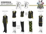 HIBERNIA Boy's Uniform by Elysian-Academy