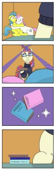 Moondancer is Out of Books! by Pony4Koma