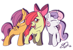 Cutie Mark Crusaders by Famosity