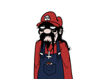 Metal Mario by Klecktacular