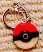 Pokeball Keychains! by xAquaMelody