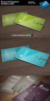 Blossom Kindergarten business card by kimi1122