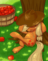 BronyCon 2013 Print: Applejack by ParadigmPizza