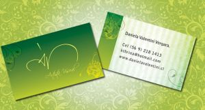 Personal card by euronymus