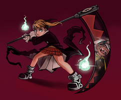 Maka Albarn (Soul Eater) by Chicken--Scratch
