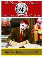 McNWO with softdrink and fries by TSHansen