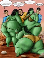 Captain Kirk and the Corpulent by Ray-Norr