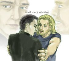 We'll always be brothers by miraxterrik