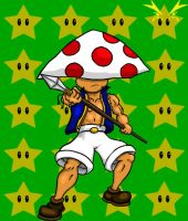 Anime Style Toad by Vukasa