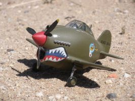 P-40 Warhawk EggPlane by DemonBa55Player
