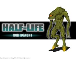 Vortigaunt from Half-Life - Wallpaper by Tadeu-Costa