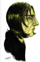 Snape Bust by RohanElf