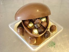 chocolate egg 9 by Gwendelyn