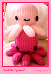 Pink Octopuses by Stitch-Happy
