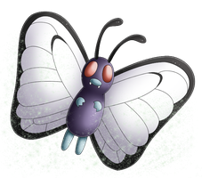 Pokedex 012: Butterfree- Sleep Powder by izka197