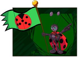 Ladybug Voyager by Cogmoses