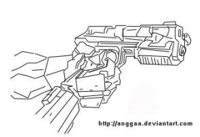 Handgun by anggaa