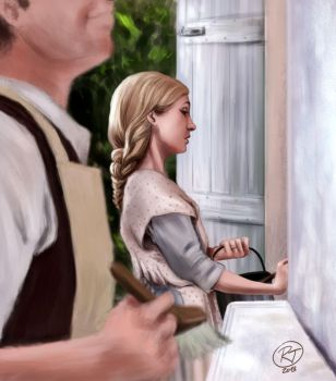 Anna painting by roby-boh