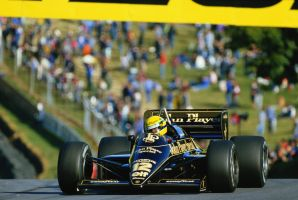 Ayrton Senna (Great Britain 1985) by F1-history