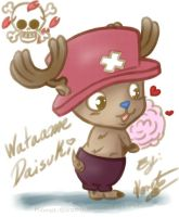 One Piece Chibi_Chopper by Koret-Sirsep