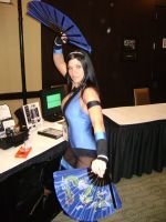 Kitana cosplay by Robot001
