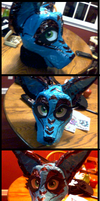 first fursuit WIP Taped by CrispyAlien