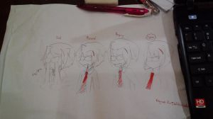 Types of Vinnie expressions by Annaliese123