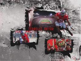 Terrelle Pryor Wallpaper by KevinsGraphics