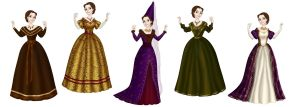 Story's design - Louise, countess of Summervill by Arrelline