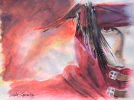 Vincent Valentine - Final Fantasy VII: DoC by drawnbymadness