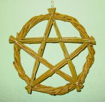 Pentacle Wreath by LWaite