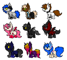 Lil Pony Adopts [CLOSED] by CuppieCakeAdopts