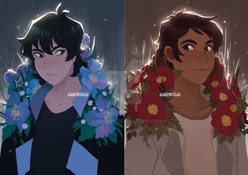 Keith and Lance by AmiWills