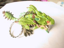 mh rathian keychain by monkfishlover