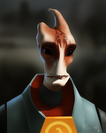 Mordin Freeman by EastCoastCanuck